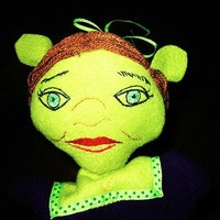 Fiona Hand Puppet of Shrek Creative Play Toy by Meoneil on Etsy