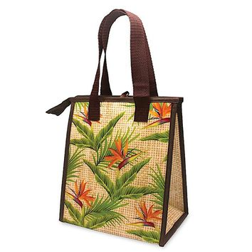 """Bird of Paradise"" Insulated Cooler Bag, Small"
