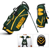 Green Bay Packers NFL Stand Bag - 14 way Fairway