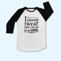 i solemnly swear that i am up to no goodT-Shirt - Gift for friend - Present