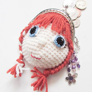Anna Frozen Coin Purse Crochet Pattern
