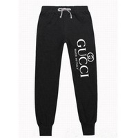 Gucci Trending Fashion Casual long sweatpants same style man and woman G