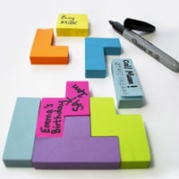 Tetris Sticky Notes: Post-it Puzzlers - Technabob