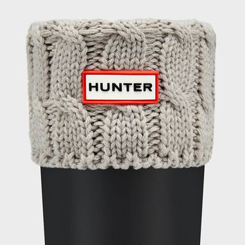 HUNTER ORIGINAL SIX-STITCH CABLE BOOT SOCKS WOMENS SOCKS