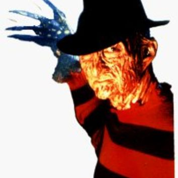 Nightmare on Elm Street - Freddy Krueger & Claws - Sticker / Decal