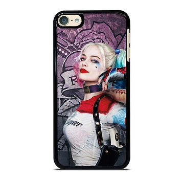HARLEY QUINN MARGOT ROBBIE iPod Touch 6 Case Cover