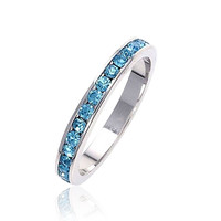 Bling Jewelry March Eternity Ring