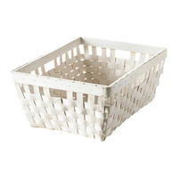 "KNARRA Basket, black-brown - black-brown - 15x11 ½x11 ¾ "" - IKEA"