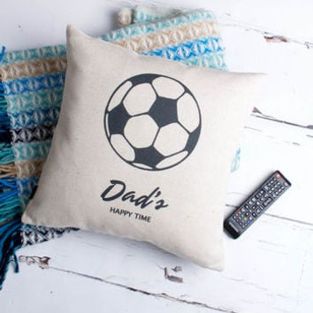 Football Time Personalised Cushion Cover