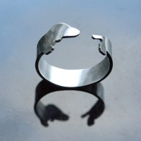 Sterling Dachshund Dog Ring by mooshygooshies on Etsy
