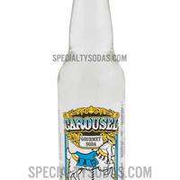 Carousel Gourmet Cream Soda 12oz Glass Bottle