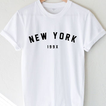 New York 199x T-shirt - White