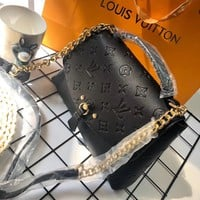 Louis Vuitton Women Shopping Bag Leather Satchel Crossbody Handbag Shoulder Bag