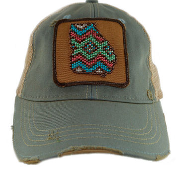 Judith March Beaded Georgia Hat