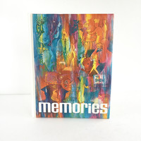 70's Retro Senior Memories Book, Vintage Senior Year Memories Scrapbook or Memory Book