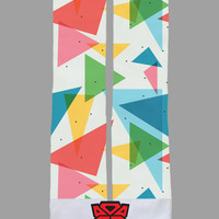 90's Triangle - Custom Sublimated Socks - Socktimus Prime