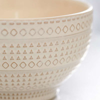Embossed Ceramic Bowl   Urban Outfitters