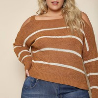 Because I Said So Plus Size Sweater Tops+ GS-LOVE