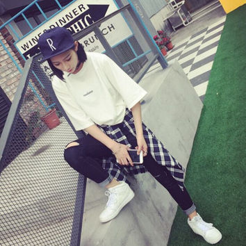 Summer Womens Loose Casual T-Shirts Gift 33