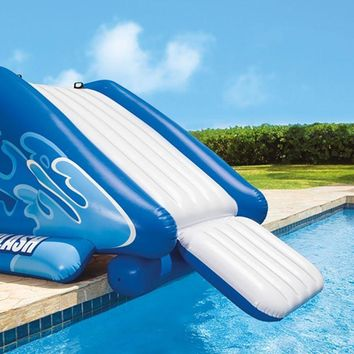 Inflatable Swimming Pool Water Slide By Intex
