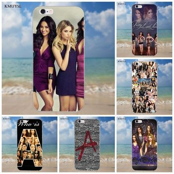 Tv Show Pretty Little Liars Soft Cases For iPhone 4 4S 5 5C SE 6 6S 7 8 Plus X Galaxy S5 S6 S7 S8 Grand Core II Prime Alpha