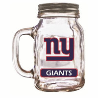 Duckhouse 16 Ounce Mason Jar - New York Giants