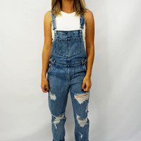 """""""So Over It"""" Overalls"""