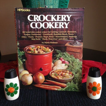 Crockery Cookery Cookbook by Mable Hoffman- Vintage 1980's