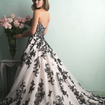 English Net Gown by Allure Bridals