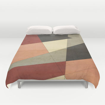 Vintage Patchwork Duvet Cover by DuckyB (Brandi)