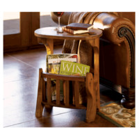 Reader-Ready Side Table