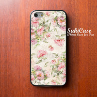 iPhone 6 Case vintage floral pattern,vintage flower