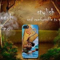 moana and moui surf animation movies iphone 4 5 5c 6 6plus, samsung S6 S7 case