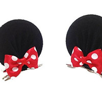 Disney Mickey Mouse Ears Baby Elastic Headband Costume Accessory :M3 (MC Clip)