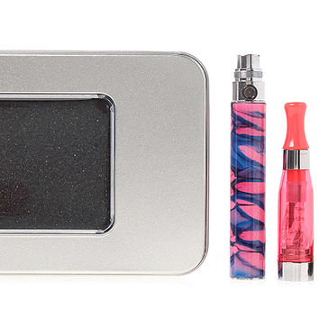 $9.65 EGO-CE4 900mAh Rechargeable E-Cigarette Starter Kit - pink / 2.0ohm / USB charging cable / metal carrying case at FastTech - Worldwide Free Shipping