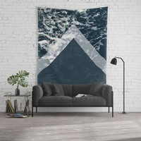 Blue sea arrows collage by ARTbyJWP