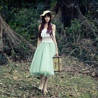 Kawaii Clothing | Falda Princesa / Princess Skirt 2WH036 | Online Store Powered by Storenvy
