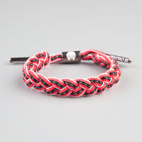 Rastaclat Carmine 3M Reflective Bracelet Red Combo One Size For Men 24850934901