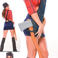 Job Costumes: Sexy Lumberjack @ OdGirl.com - Sexy Lingerie, Sexy Clothing, Valentine?s High Heel Shoes, Dancewear, Clubwear, Gothic Apparel, Minidress, Bridal Lingeries, Short Skirt, Bikini, Swimwear, PVC Leather and Gowns