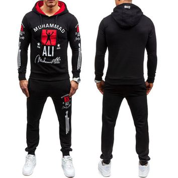 New 2017 Fashion Sportswear Tracksuits Sets Men's Hoodies+Pants casual Outwear Suits