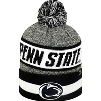 Top of the World Men's Penn State Nittany Lions Grey/Blue/White Cumulus Knit Beanie