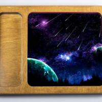 Shooting Stars Rolling Tray - On Sale - Cannabis, rolling trays, stash trays