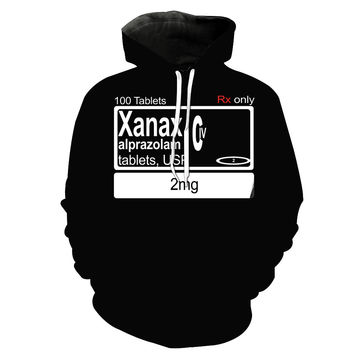 Xanax Prescription Dosage Hoodie
