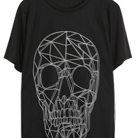 Big 3d skeleton printed t shirt(vintage graphic women men unisex girl)