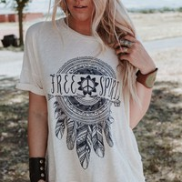 Free Spirit Dreamcatcher Tee