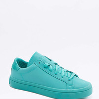 adidas Originals Adicolour Court Vantage Green Trainers - Urban Outfitters