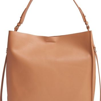 ALLSAINTS 'Paradise North/South' Calfskin Leather Tote | Nordstrom