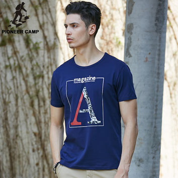 New Summer Letters Printed T Shirt Elastic T shirt Home Fitness  Clothing Thin Soft Men T shirt