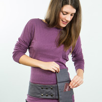 Reversible 4 Pocket Brick Moonstone Hip Hugger - Petal & Stem - The most efficient hip bag ever