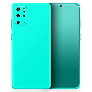Solid Mint V2 - Skin-Kit for the Samsung Galaxy S-Series S20, S20 Plus, S20 Ultra , S10 & others (All Galaxy Devices Available)